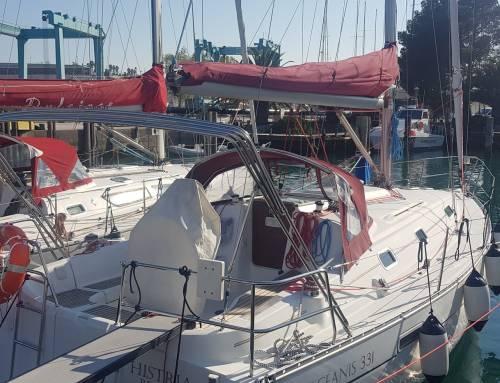 "Affitto barca a vela ""Histria"""